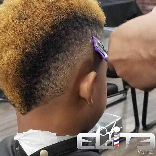 Black Boys haircut