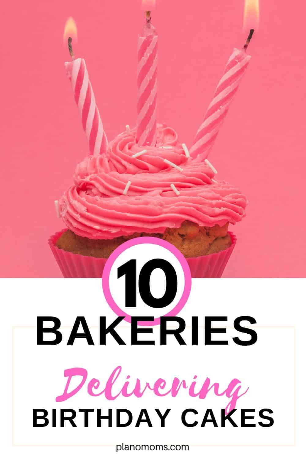 10 Bakers delivering Birthday Cakes
