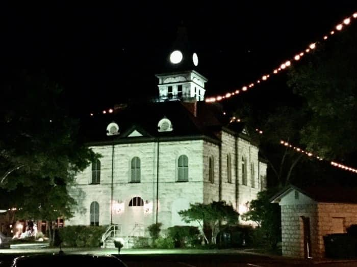 Downtown Glen Rose Town Hall