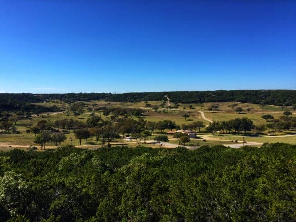 View at Fossil Rim, Glen Rose Texas