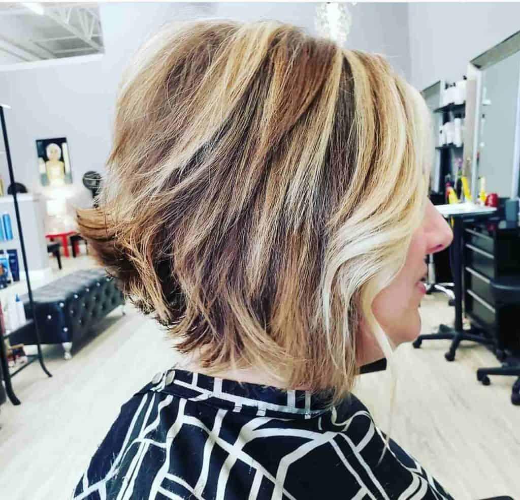 Platimun Rose hair 2
