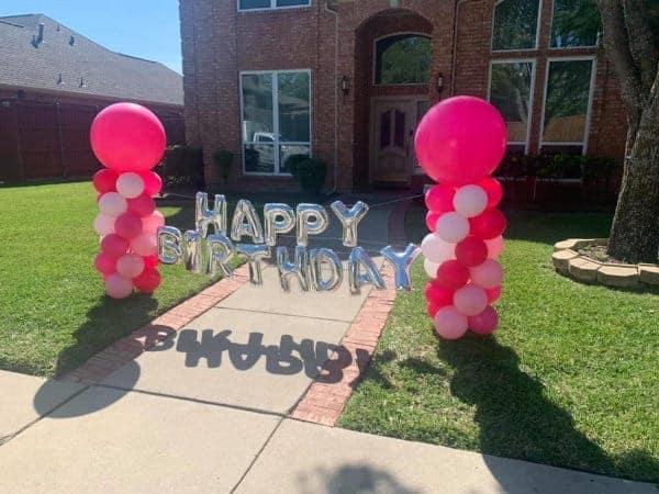 Outdoor Balloon Displays