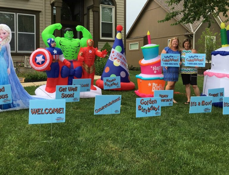 Rent Inflatables for birthdays