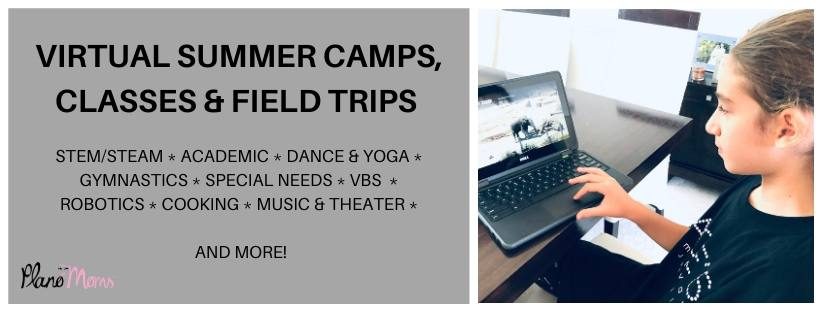 Virtual Summer Camps, Field trips and Classes
