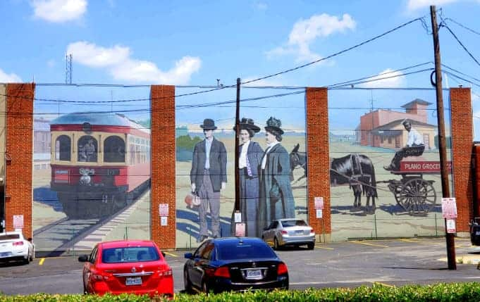 Historic Downtown Plano mural