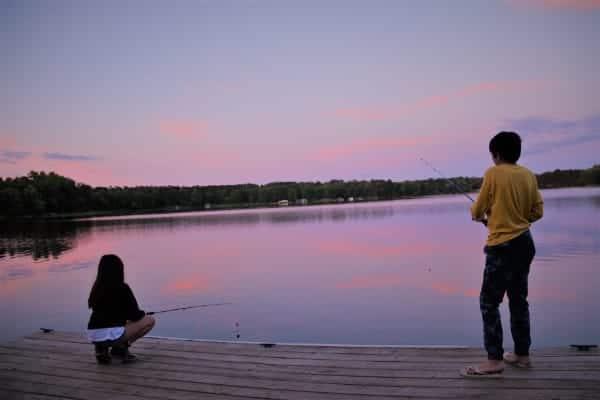 Fishing in Plano
