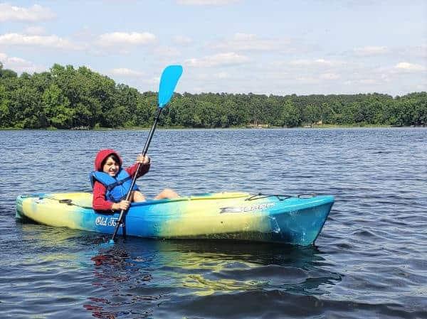 Kayaking in Plano