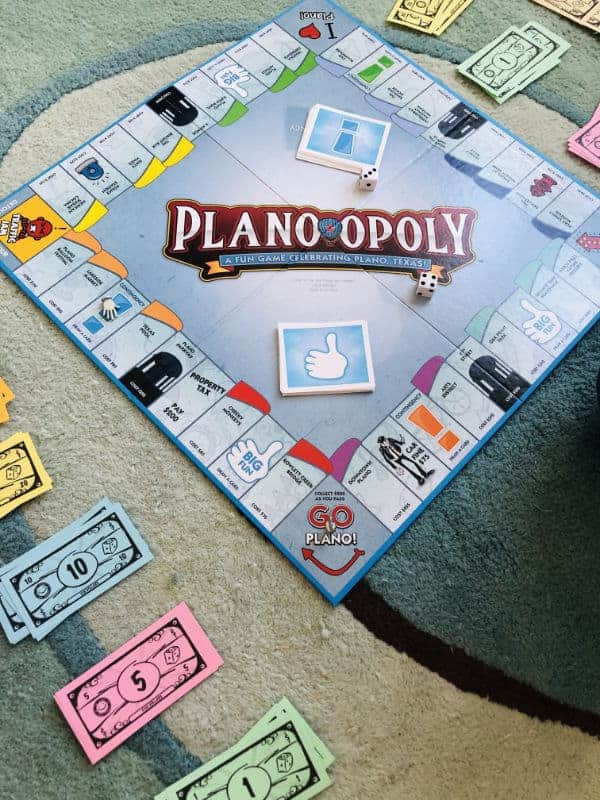 Plano-opoly Board Game