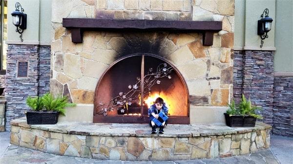 Fireplace photo spot in Allen TX