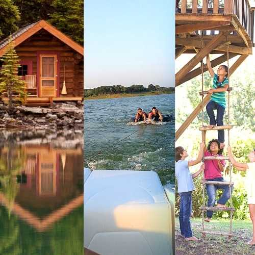 Cabin Rentals and Campsites in Ak, TX and OK