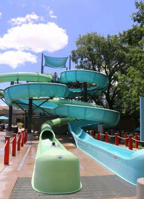 Slides at Hilton Anatole Dallas