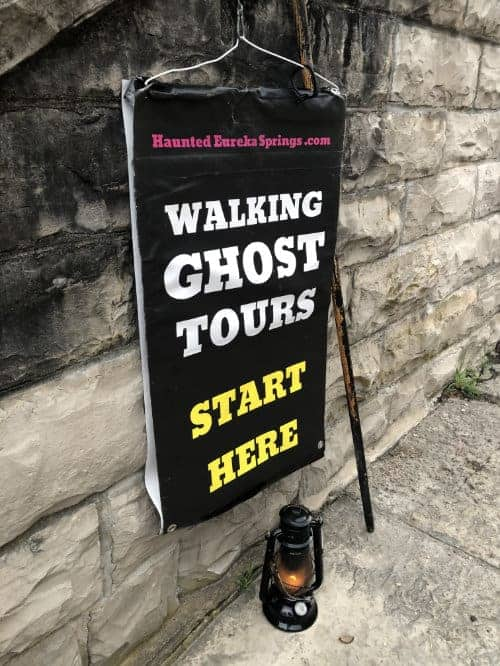 Walking Ghost Tours Eureka Springs