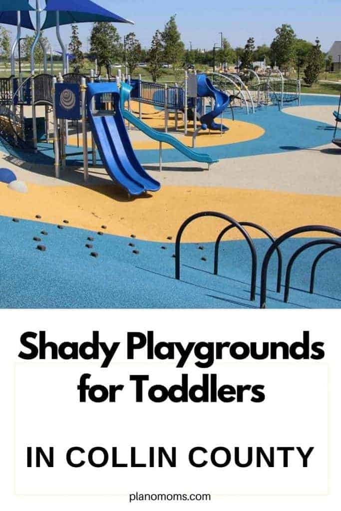 Shady playgrounds for Toddlers
