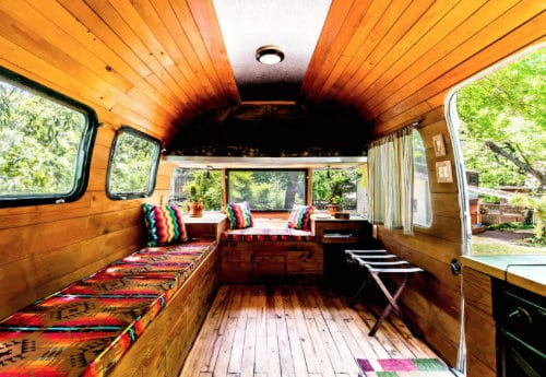 Vintage Airstream AirBnB Dallas