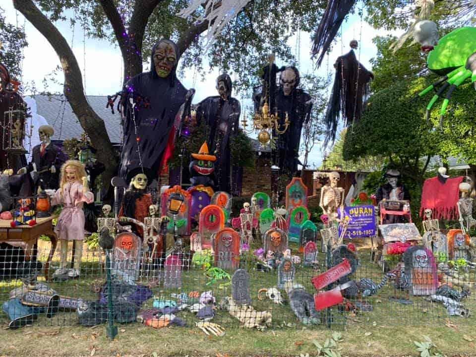 Halloween on Singletree Plano