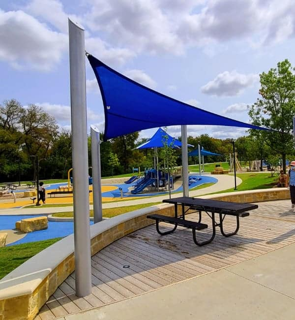Playgrounds with Shade Plano