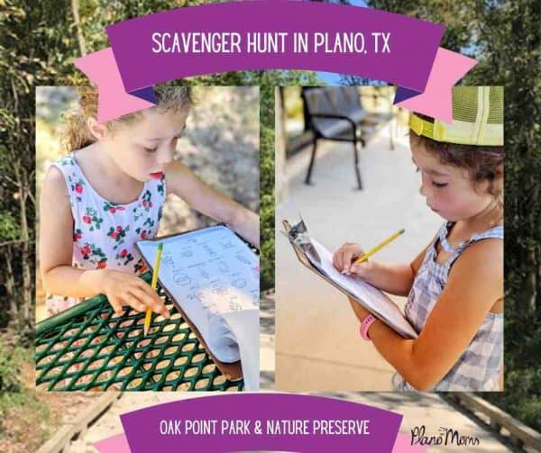 Scavenger Hunt in Oak Point Park and Nature Preserve