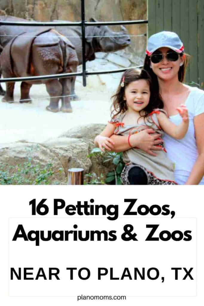 16 Local Places to Visit with Animals - Petting Zoos, Aquariums, Nature Farms and Zoos.