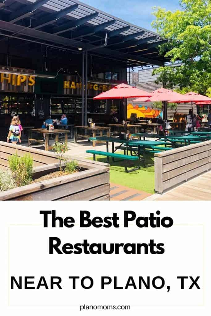 We've asked around and even found some ourselves to discover and give you a list of the best Patio Restaurants near me in Plano, Frisco, Little Elm, Allen and Collin County. Most are indoor and outdoor restaurants with outdoor seating.