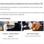 Directory in Plano, TX