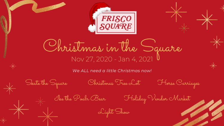 Christmas Events around Dallas Frisco