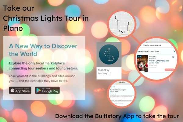 Take our Christmas Lights Tour
