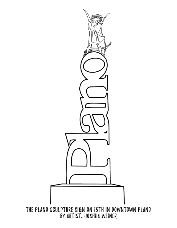 Coloring Pages for Kids in Plano TX