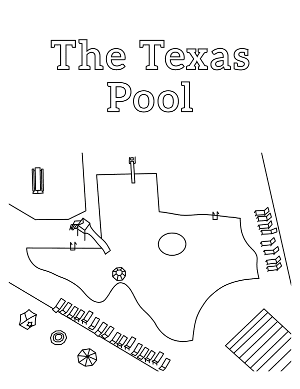 Coloring page Plano TX