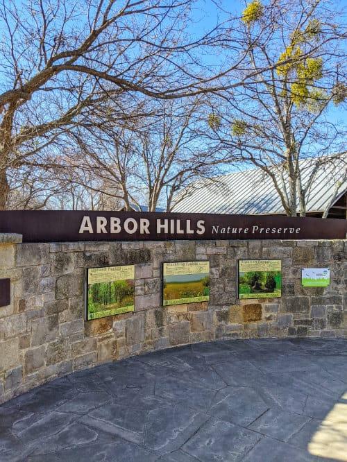 Arbor Hills sign