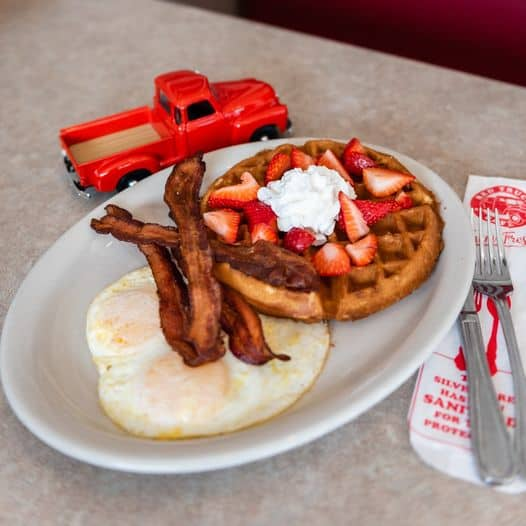 Red Truck Cafe breakfast