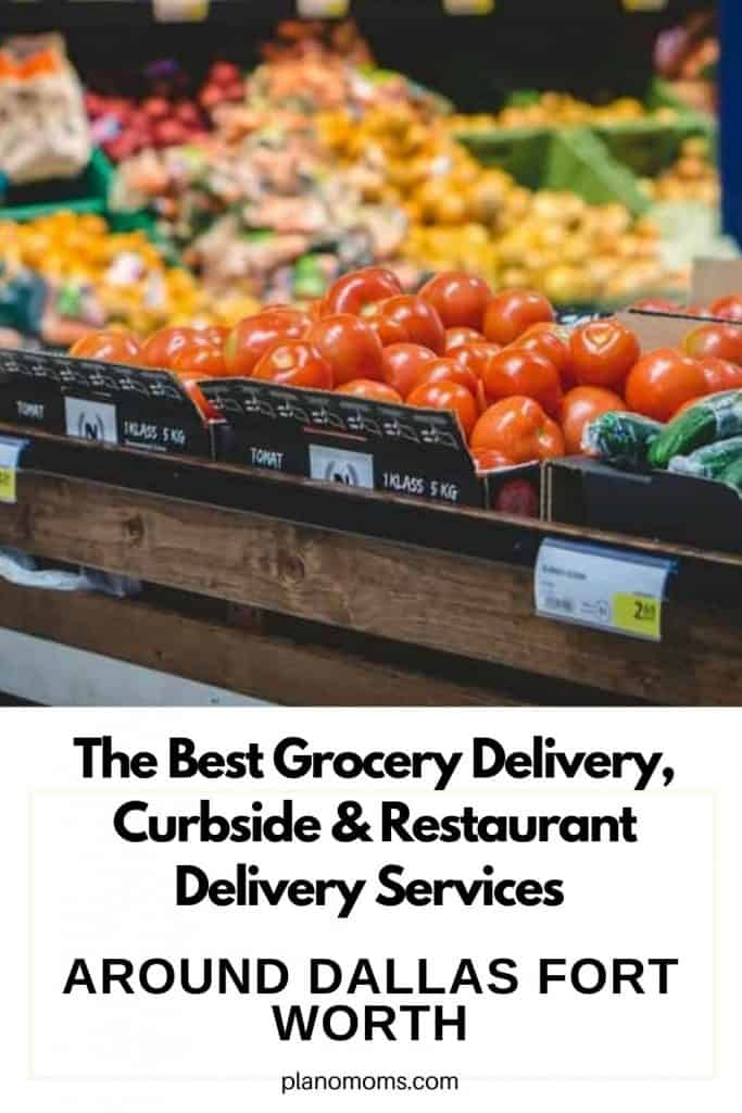 Grocery Delivery near me, Curbside pick up near me for groceries, Plano, Dallas TX