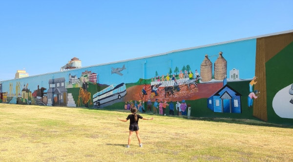 Mural in Waco Texas