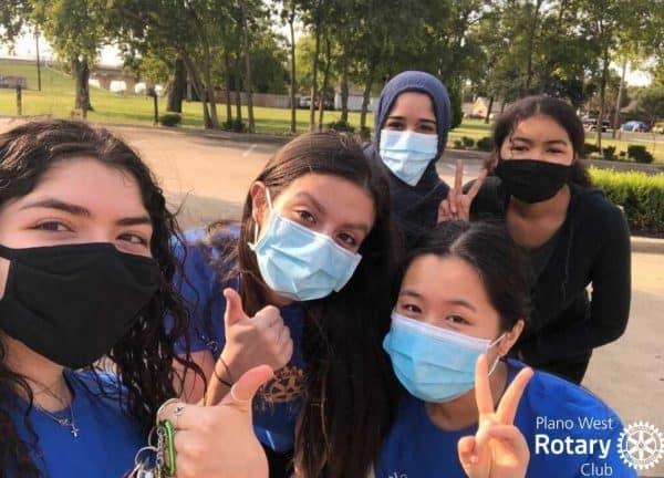 Rotary club Volunteers