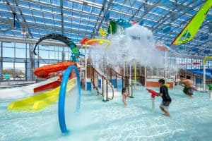 indoor water park the Cove