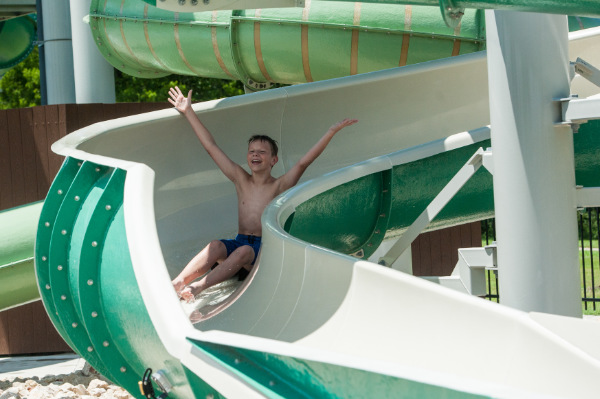 Water slides in Plano