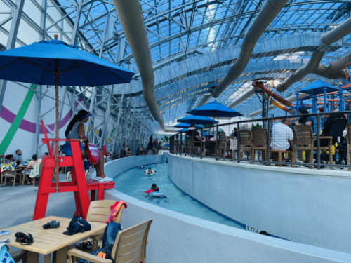 Epic Waters indoors lazy river
