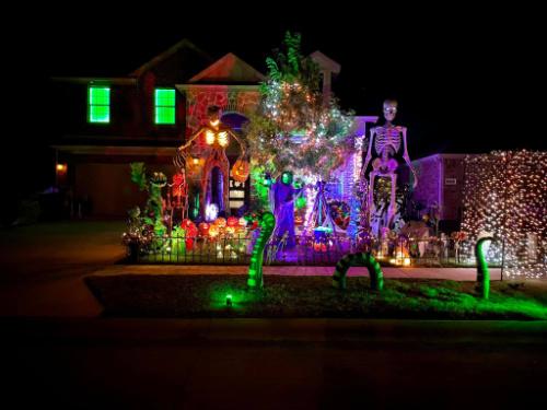 Burkman Holiday Home Halloween